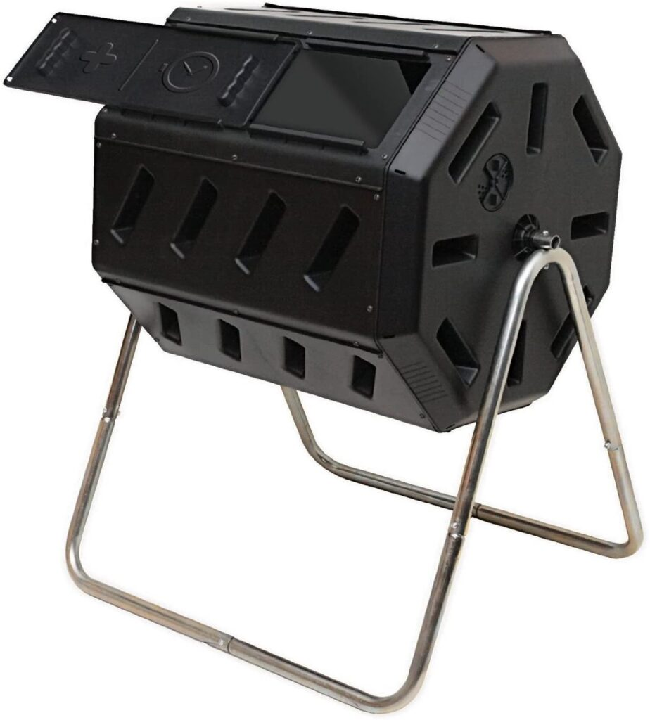 FCMP Outdoor IM4000 Tumbling Composter 37 gallon