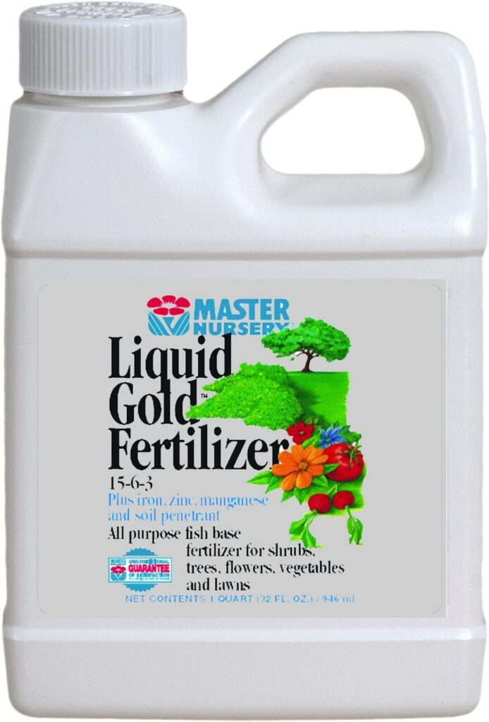 Master Nursery 15 6 3 Liquid Gold