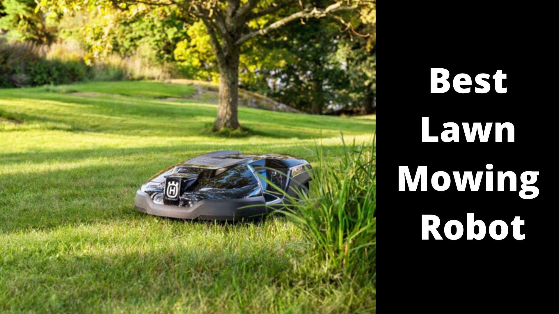 Best Lawn-Mowing Robot